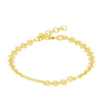 Pulsera Chapitas Gold