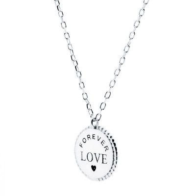 Collar Forever Love Plata