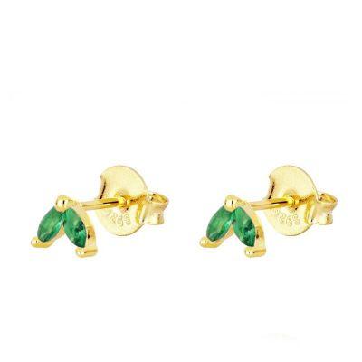 Pendientes Ainhoa Verdes Gold