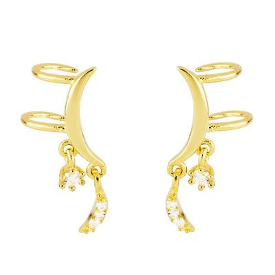 Ear Cuff Lunita Gold