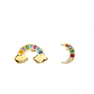 Pendientes Arcoíris Gold