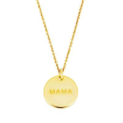 Collar Redondo Mama Gold