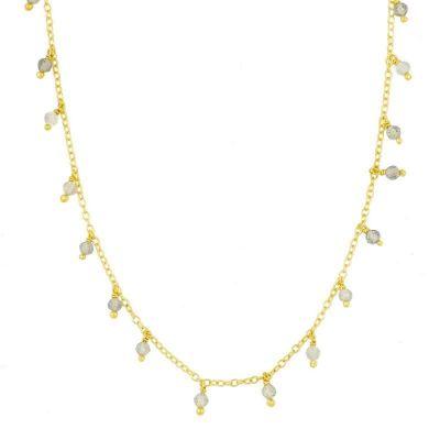 Collar Chiara Labradoritas Gold