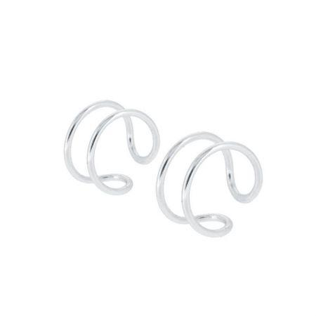 Ear Cuff de Plata de Ley