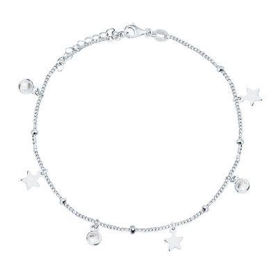 Pulsera de Estrellas en Plata