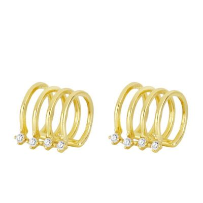 Ear Cuff Rosario Gold