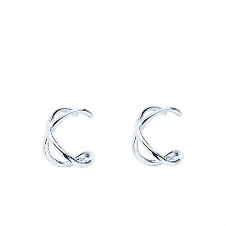 Ear Cuff de Plata de Ley Cruz