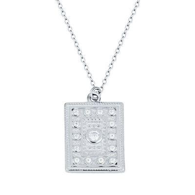 collar de piedras en plata