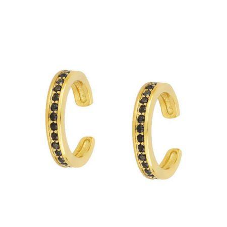 Ear Cuff de Oro Amarillo