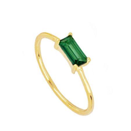 Anillo Abi Green Gold
