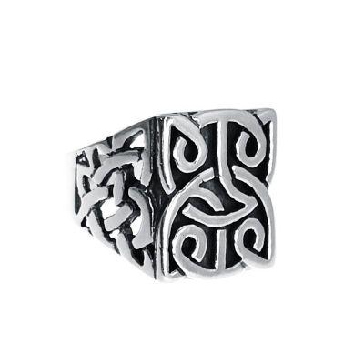 sello de plata para caballero medieval