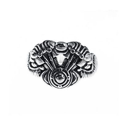 sello de plata caballero motor moto