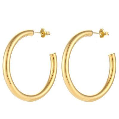 aros dorados de mujer
