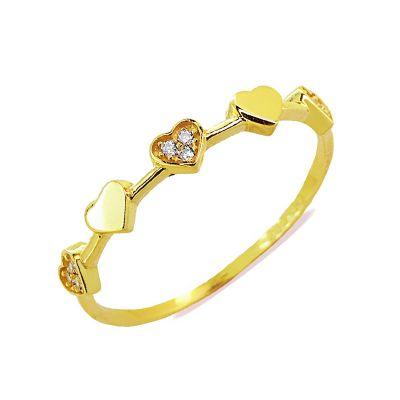 anillo corazón