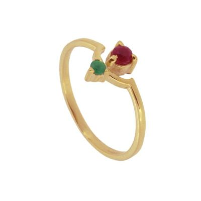 Anillo Iris Red Gold