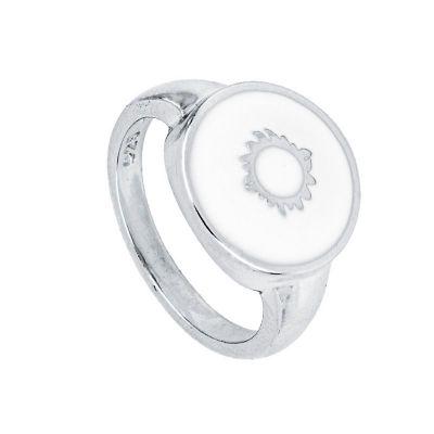 sello de mujer plata