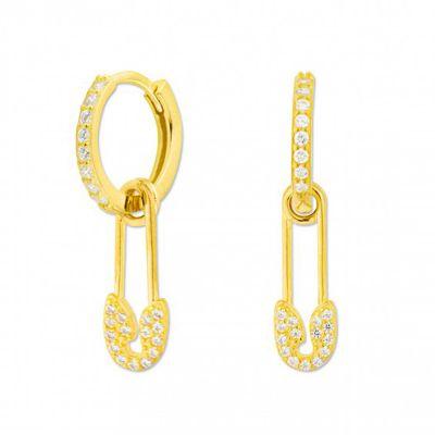 aros de mujer dorados