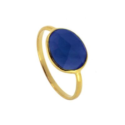 Anillo Lis Blue Gold