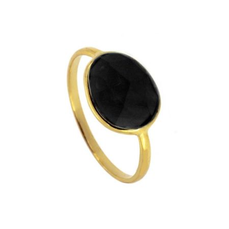 Anillo Lis Black Gold