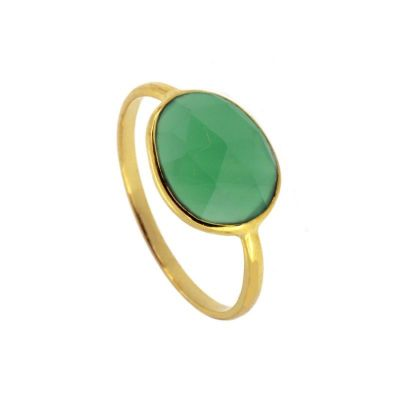 Anillo Lis Green Gold
