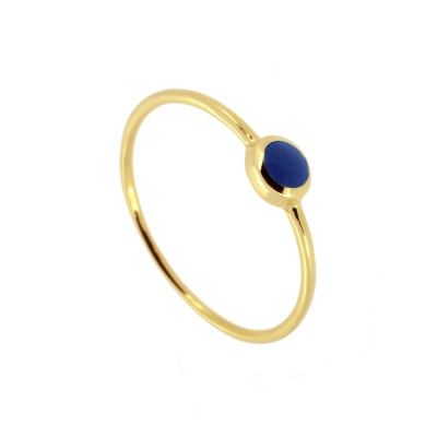 Anillo Zoe Blue Gold