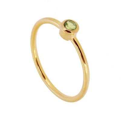 Anillo Noa Green Gold