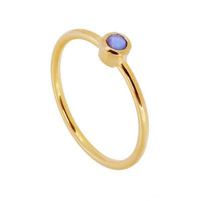 Anillo Noa Blue Gold
