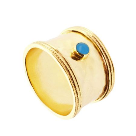 Anillo Ares Blue Gold