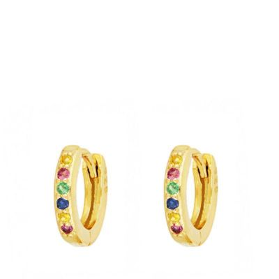 Aros Lucy Multicolores Gold