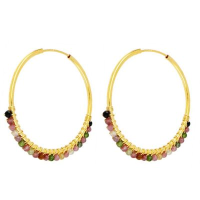 Aros Abby Turmalinas 35mm Gold