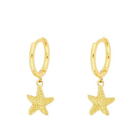 Aros Estrella de Mar Gold