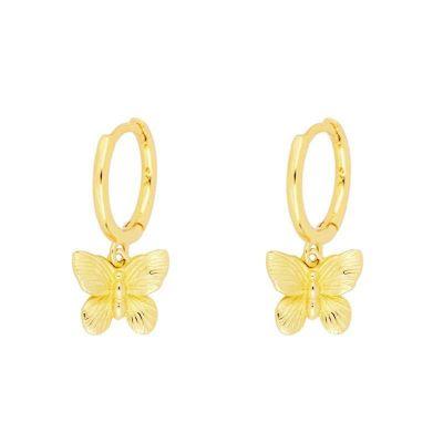 Aros Mariposa Gold