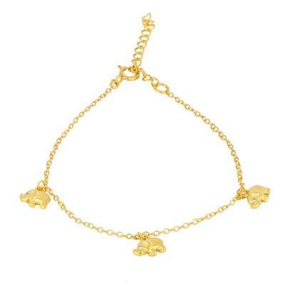 Pulsera Elefantes Gold