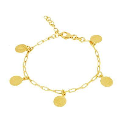 Pulsera Monedas Gold